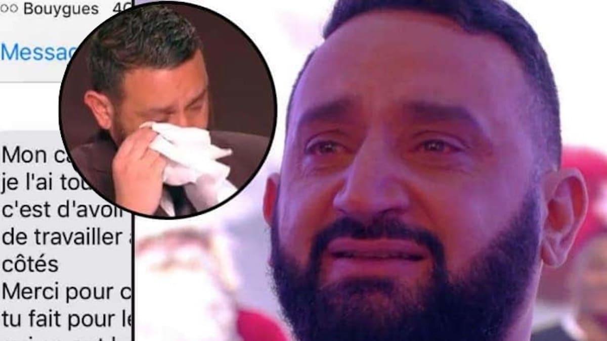 Cyril Hanouna anéanti par le SMS de son ex-agent de sécurité Mokhtar !