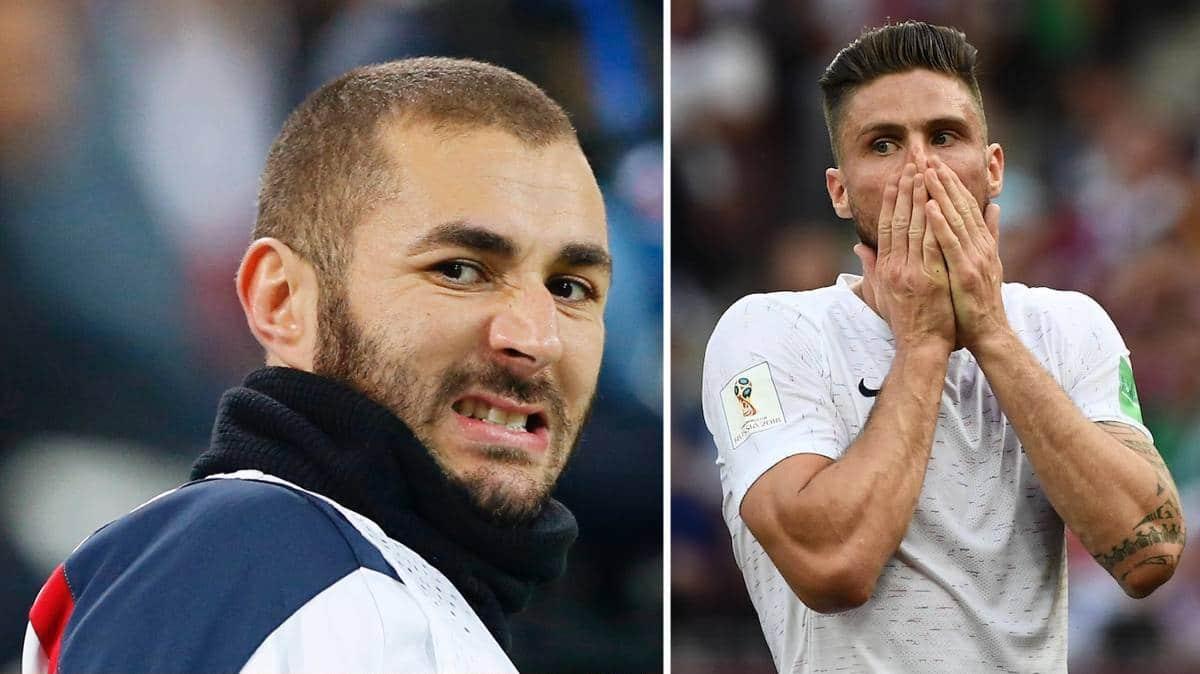 Karim Benzema dézingue totalement Olivier Giroud sur Instagram