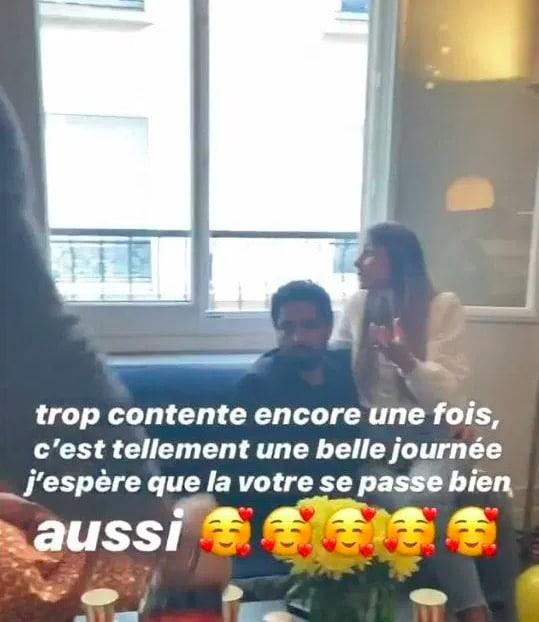 Inès-instagram-Charlotte-et-son-copain