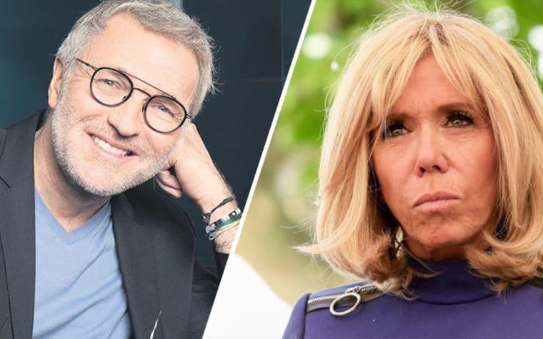 """Laurent Ruquier se fait """"violemment dézingué"""" Brigitte Macron, c'est chaud"""