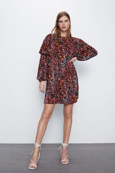 Robe-à-fleur-Zara-soldes-été-2020