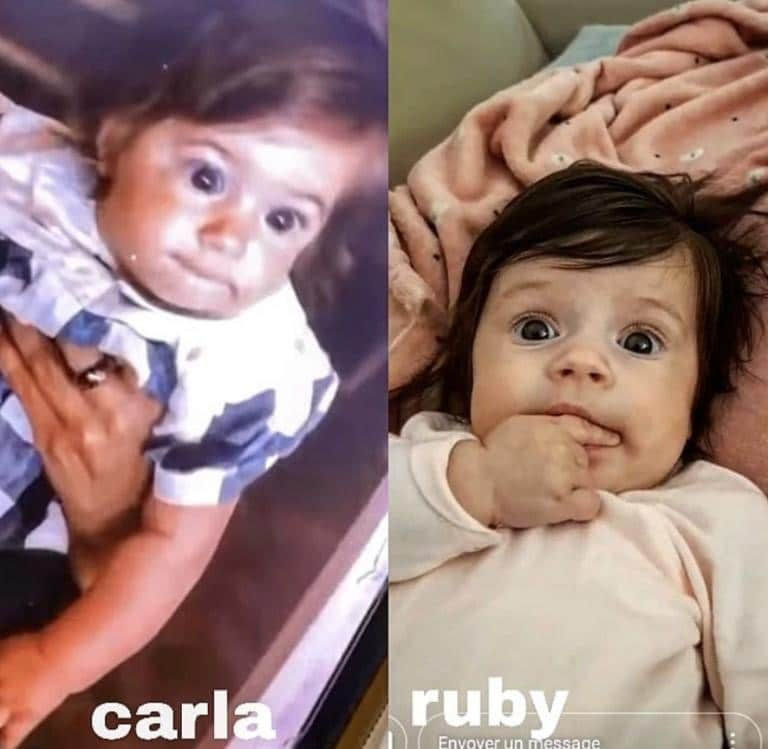 Carla Moreau bébé