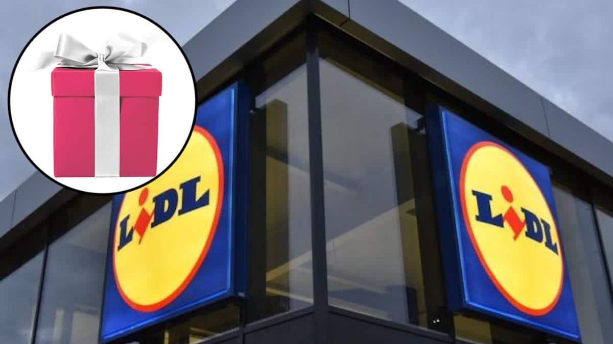 """Lidl : Pour un achat de 15 euros, gagnez """"un super cadeau surprise"""" n'attendez pas pour le découvrir !"""