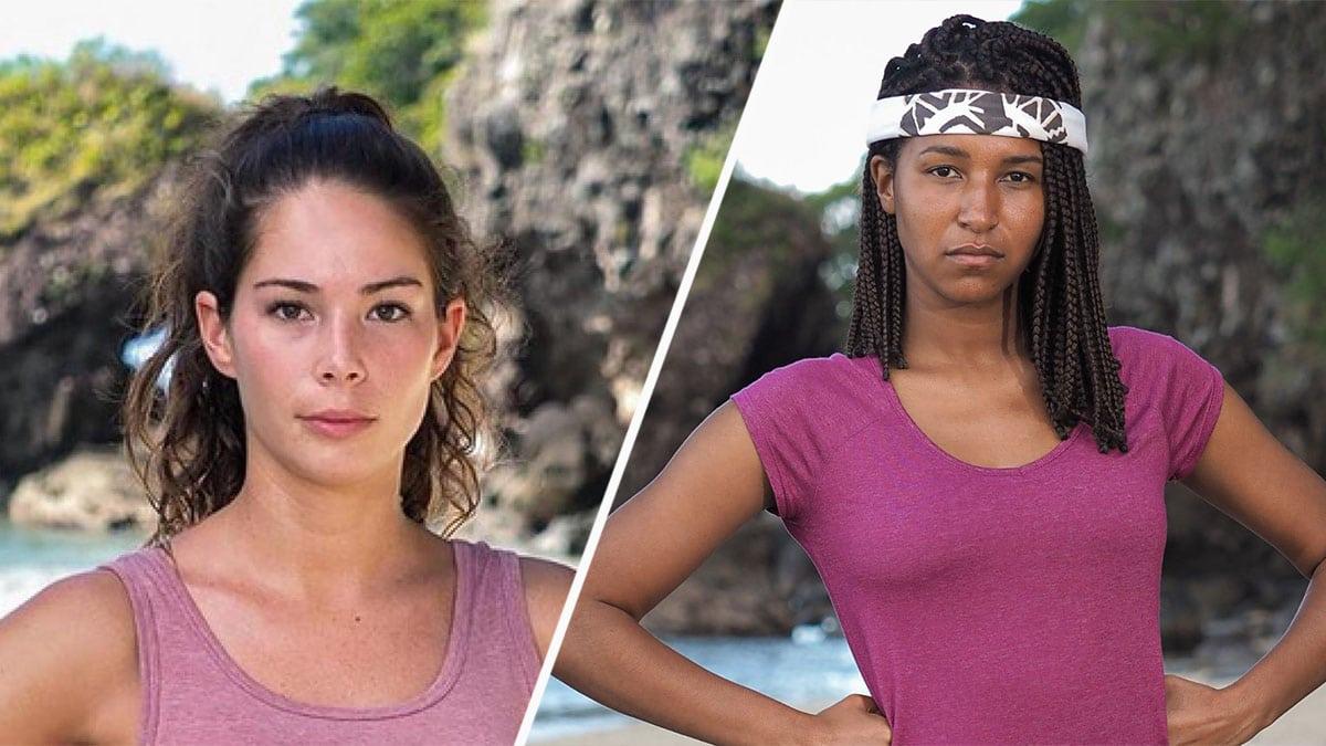Lola et Angélique (Koh-Lanta): sans vêtements sur la plage, la toile est conquise