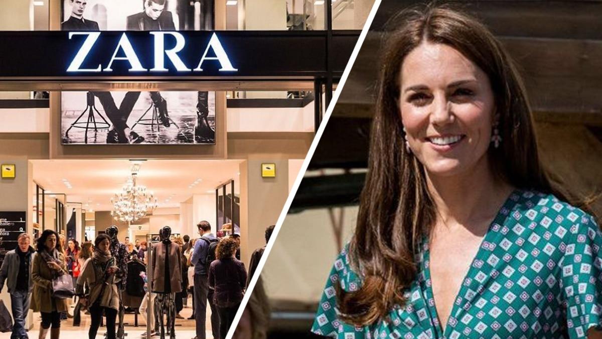 Zara présente la sublime robe signée Kate Middleton à 12 Euro, elle fait des ravages !