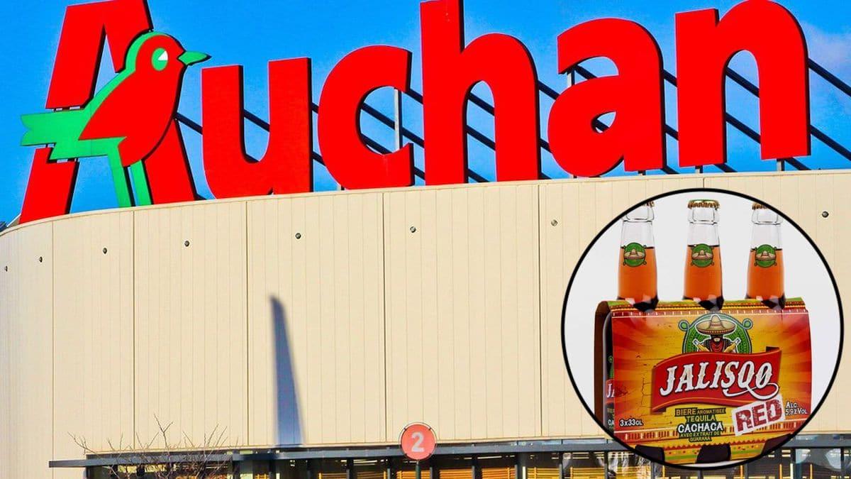 Auchan : Attention, des bières rappelés en urgence à cause de morceaux de verre