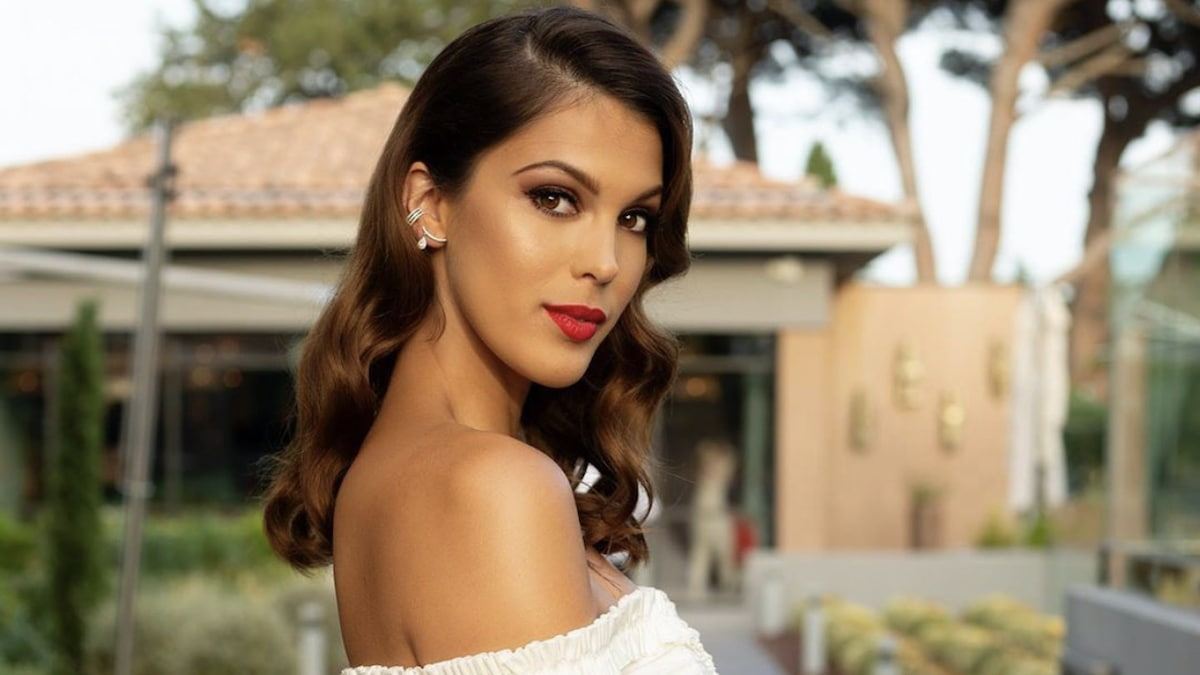 Iris Mittenaere Creates Discord Her Leather And Bra Look Is Not Unanimous Archyde