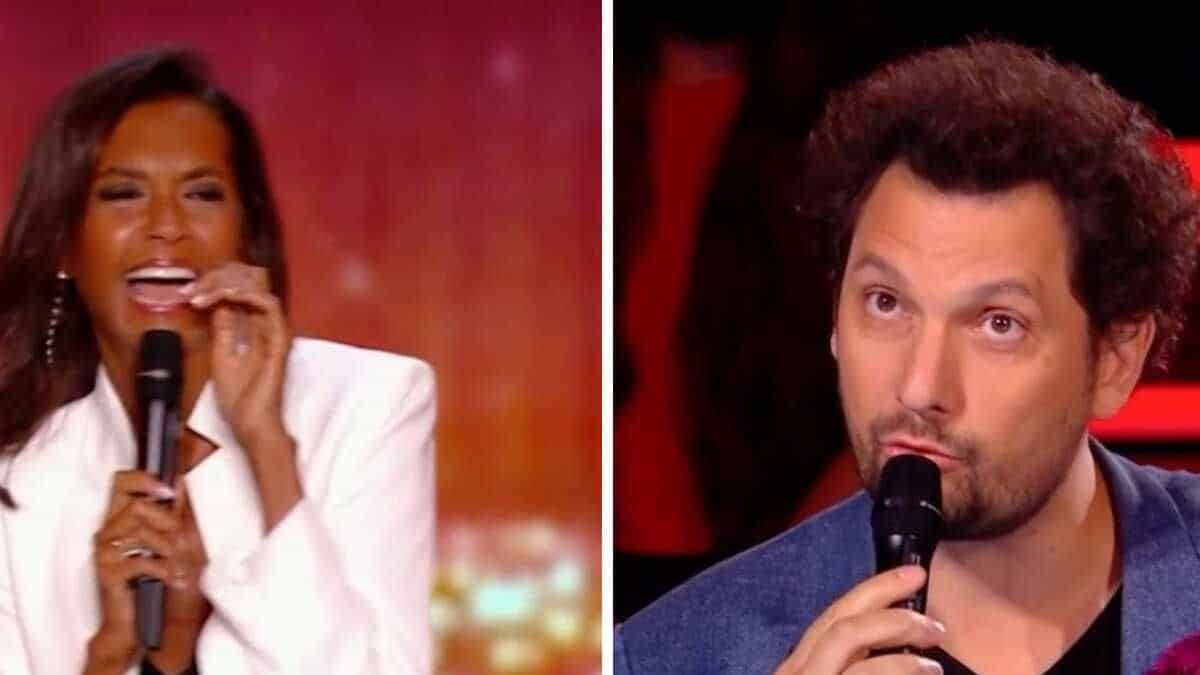 La France a un incroyable talent: Karine Le Marchand se moque du transit intestinal d'Eric Antoine