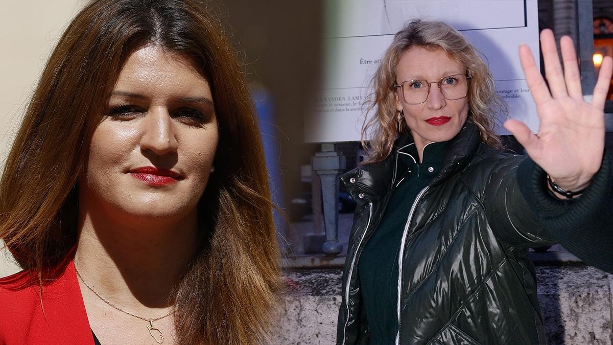 Marlène Schiappa vient au secours d'Alexandra Lamy dans l'émission de Hanouna!
