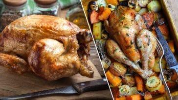 Le poulet : 10 grosses erreurs qui nous faisons tous pour sa cuisson à ne plus commettre !
