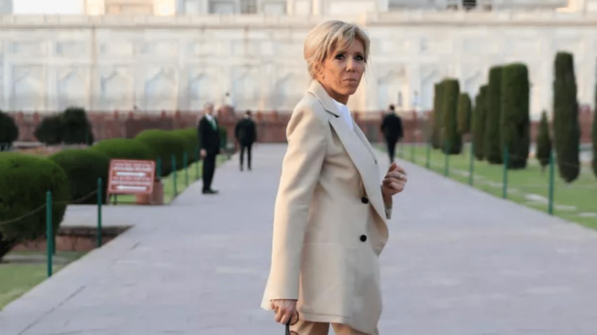 Brigitte Macron très surprise et piégée elle a vu son mari se ridiculiser sur TF1 dans une émission...