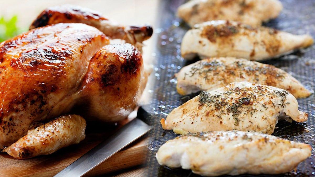 Le poulet: 10 énormes erreurs que nous faisons tous pour le cuire (les règles à respecter)